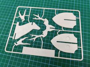 Kit Card - Deer Head