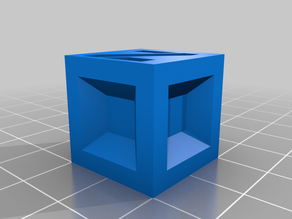 Boring Calibration Cube