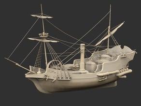 Steam Galleon
