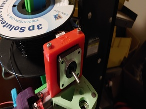 2020 Series Extruder Mounting Clamp