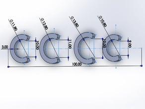 Chandelier clips щипки за полилей