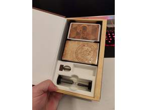 Salem 1692 Insert and Card Holder