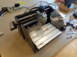 CNC 3018 Side Guards (laser acrylic)