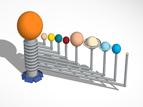 3D4KIDS exercise: The Solar System
