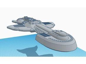 Cardassian Dreadnought Deep Space Exploration Ship V2