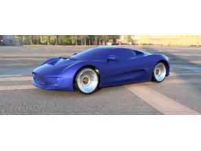 Jag CX75 for Open Z V5 Drift.