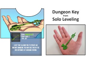 Dungeon Key from Solo Leveling