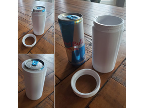 8.4oz Energy Drink Can Koozie