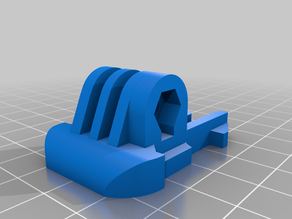 GoPro buckle (mod for PLA)