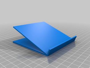 Customizable angled stand