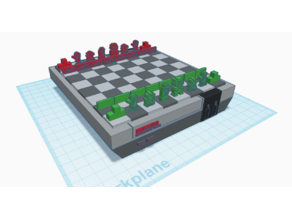 NES Chess Set and Board
