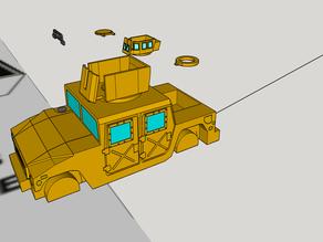 humvee for wargaming