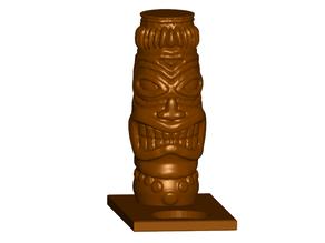 Tiki Tealight Candle Holder