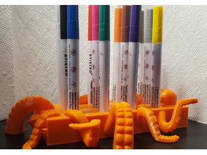 Octopus Paint Marker Holder