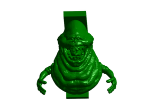 Ghostbusters Slimer Shelf Bracket (No Supports & Nuclear Tape Mount)