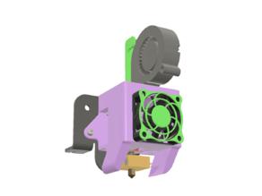Slick Ender 3/3-Pro/5/CR-10 2in1 duct 5015
