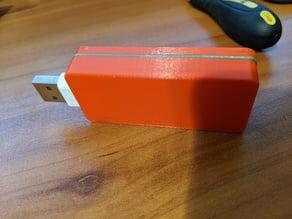 USB Dongle Case for Raspberry Pi Zero W Remixed bigger USB