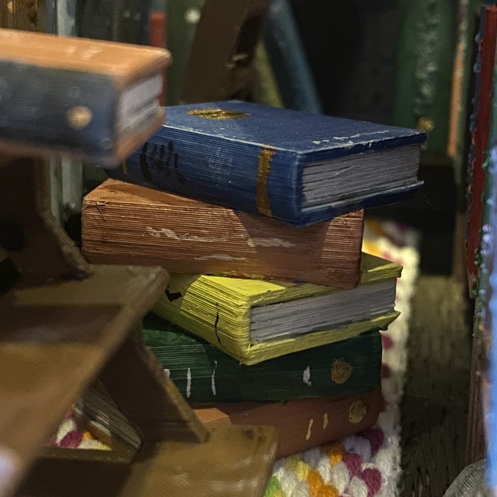 Miniature Stack of Books