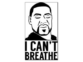 George Floyd - I Can't Breathe - Vector Art