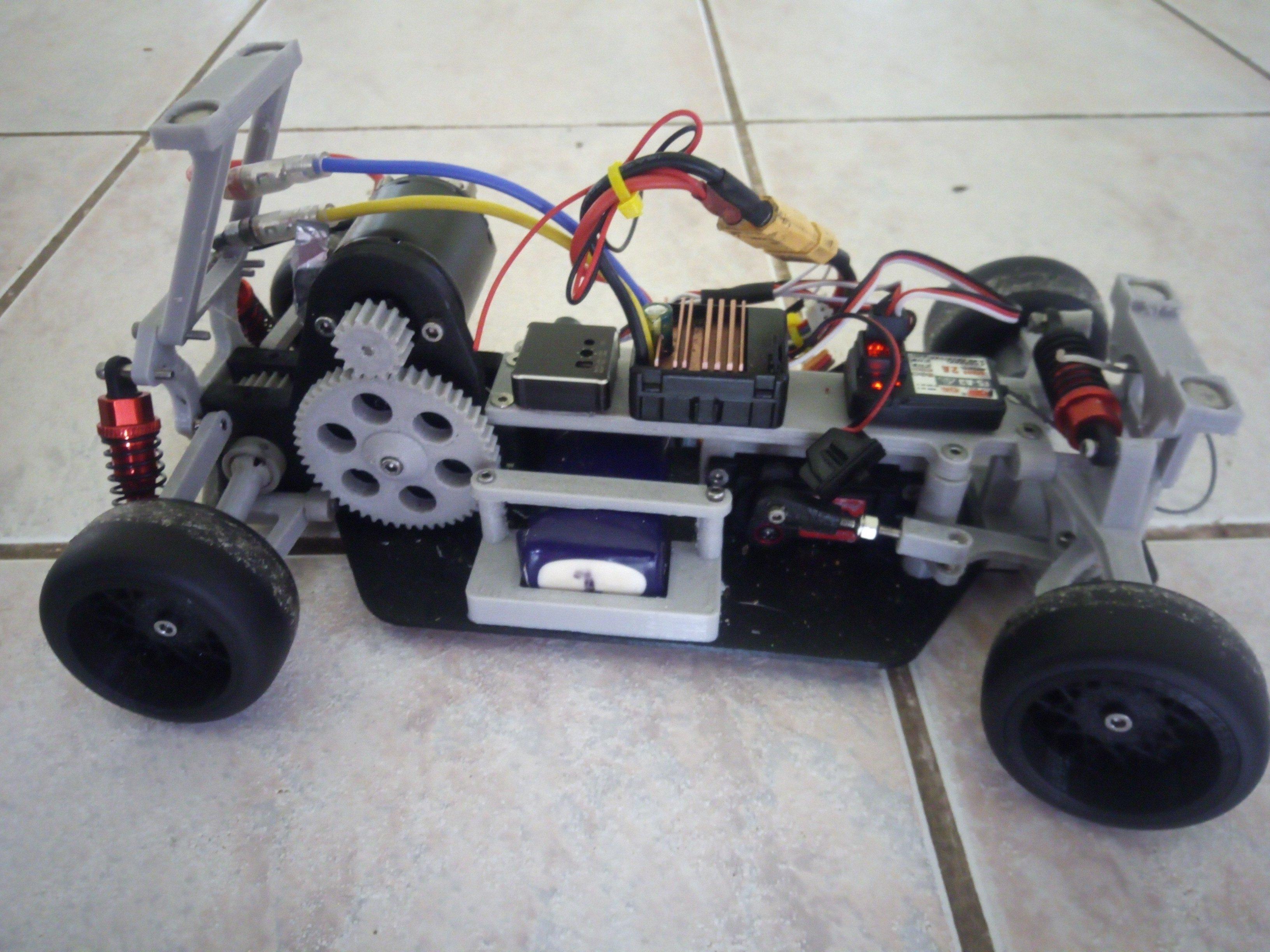 Mini Drift Chassis 1-10