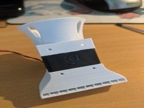 Fixed rear blower fan for MP Select mini