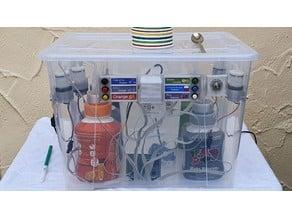 SodaMat - der freie DIY Getränkeautomat zum Bezug von Mischgetränken aus Wasser und Sodastream Sirup (drinks dispenser machine for obtaining mixed drinks made of water and Sodastream syrup)