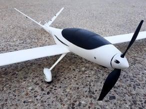RC FPV airplane - Model V fuselage