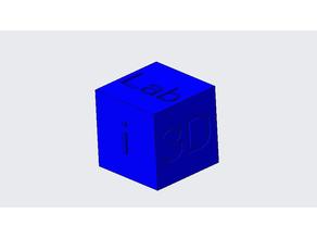 Calibration Cube i3D&MLab