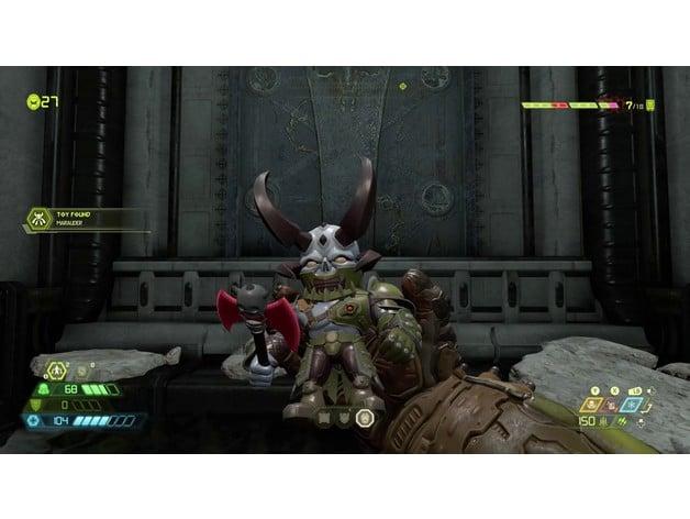 Doom Eternal Marauder Toy By Geck Thingiverse