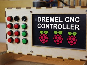 Raspberry Pi Controller For Dremel CNC Case