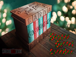 Santa's Secret Lock Box