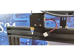 Mingda D2 support filament sensor MOD