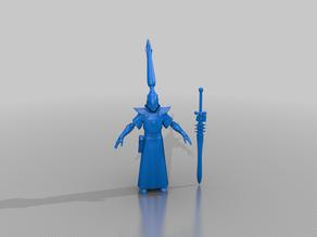 warlock - eldar psyker - tm