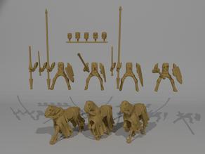 Undead Knight Miniatures Custamizable