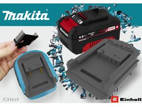 Einhell 18v X to Makita (Fixed)