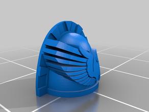 Blue Macaw Cosmic Marine shoulder pad