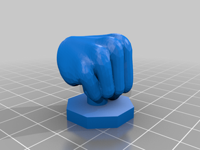 Hand Symbols for 28mm RPG - Interposing/Fist/Grasping/Insulting/etc.
