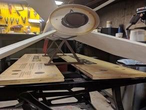 Rocket airframe holder for Workmate