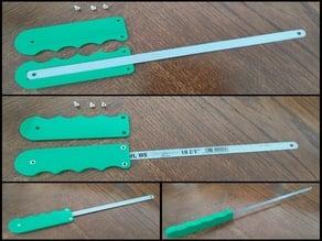 Sawblade handle