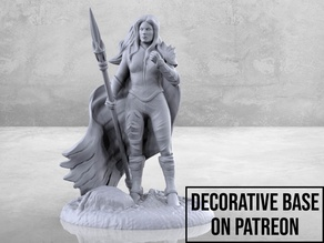 Female Fighter - Tabletop Miniature