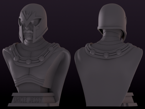 Uncle Jessy's Magneto Bust