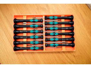 Tray for Wera Kraftform Micro Screwdrivers 12 Piece