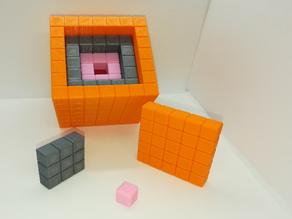 Nesting Cubes, Recursive Cubes, Cubes within Cubes