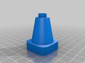 Traffic Cone // Leitkegel // Pylon (LEGO DUPLO compatible) multicolor
