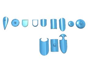 Various shields