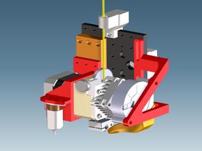 Modular X-carriage Anet A8/AM8 & Titan Aero (REMIX)