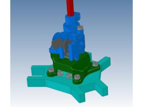 Flex (the Nimble V3) mount for the Tevo TLM