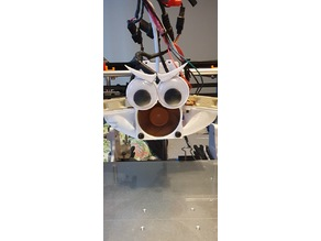 Angry face for 40mm fan