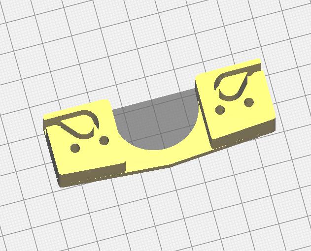 Belt holder 75x24x20 mm
