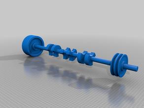 Lift Frame for Bohaboy-Haas Poppet Valve Steam Engine